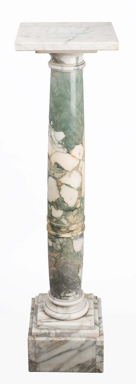 Marble column/pedestal - Belgian Art Shop
