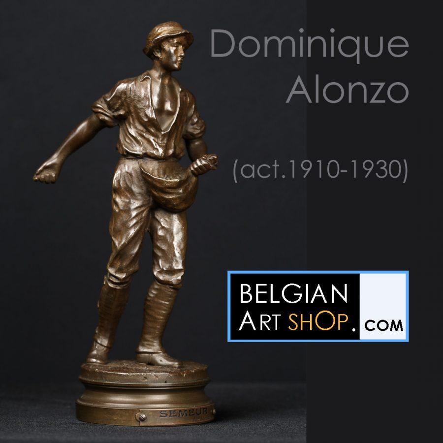 Dominique Alonzo - Belgian Art Shop