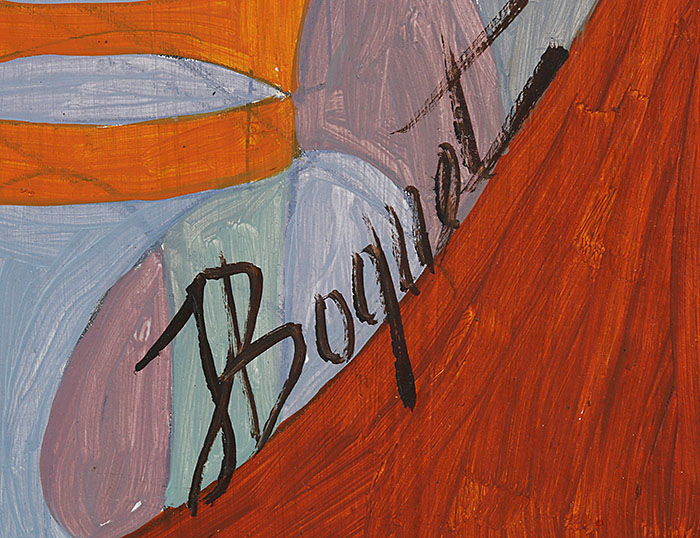 Jean Boquet - Magisch landschap - Belgian Art Shop