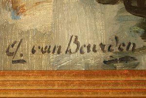 Alphonse Van Beurden - Belgian Art Shop