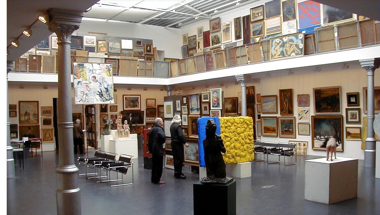 In het veilinghuis - Belgian Art Shop