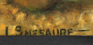 Getekend SMESAURE - Belgian Art shop